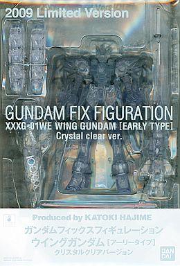 Gundam Fix Figuration XXXG-01WE Wing Gundam Clear