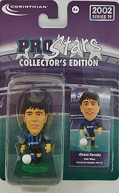【中古】フィギュア Alvaro Recoba-アルバロ・レコバ-/Inter Milan-インテル・ミラノ- 「PRO Stars」 コレクターズエディション 2002 シリーズ19