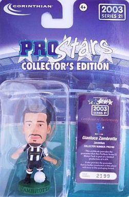 【中古】フィギュア Gianluca Zambrotta -ジャンルカ・ザンブロッタ-/Juventus -ユベントス- 「PRO Stars」 コレクターズエディション 2003 シリーズ21
