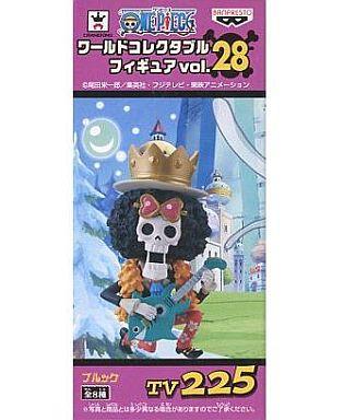 【中古】フィギュア ブルック 「ワンピース」 ワールドコレクタブルフィギュアvol.28