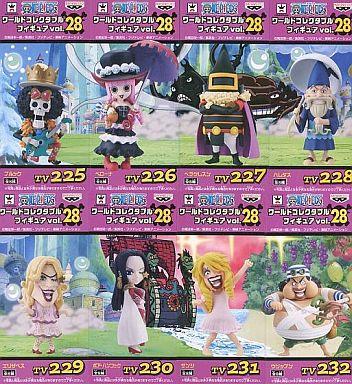 全8種セット 「ワンピース」 ワールドコレクタブルフィギュアvol.28