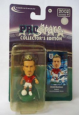 【中古】フィギュア David Beckham -デビッド・ベッカム-/England -イングランド代表- 「PRO Stars」 2002 シリーズ19