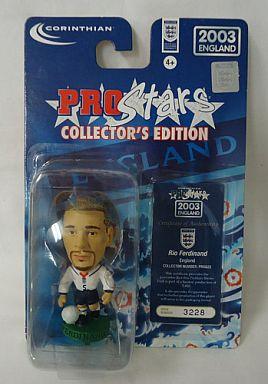 【中古】フィギュア Rio Ferdinand -リオ・ファーディナンド- /ENGLAND -イングランド代表- 「PRO Stars」 コレクターズエディション 2003イングランド
