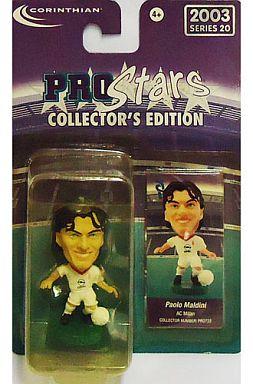 【中古】フィギュア Paolo Maldini -パオロ・マルディーニ-/AC Milan -ACミラン- 「PRO Stars」 コレクターズエディション 2003 シリーズ20