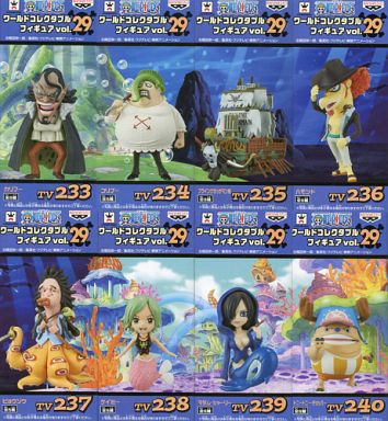 全8種セット 「ワンピース」 ワールドコレクタブルフィギュア vol.29