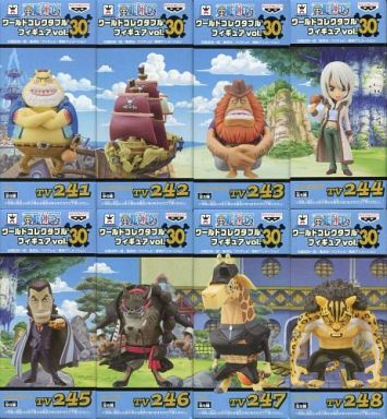 全8種セット 「ワンピース」 ワールドコレクタブルフィギュア vol.30