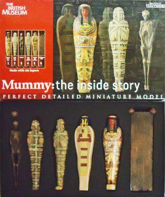【中古】フィギュア mummy: the inside story -バーチャルマミー- 塗装済み完成品 大英博物館ミイラと古代エジプト展会場限定