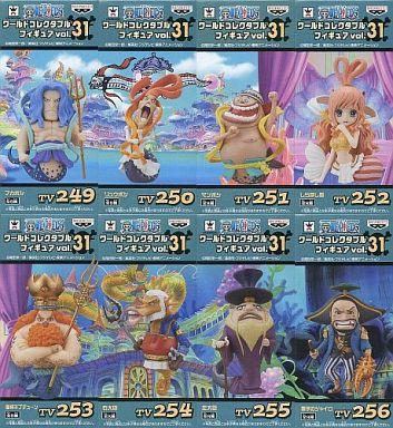 全8種セット 「ワンピース」 ワールドコレクタブルフィギュア Vol.31