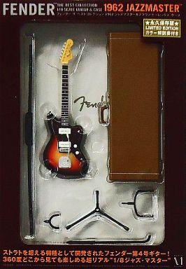 【中古】フィギュア 1962ジャズマスター&ブラウン・トーレックス・ケース 「Fender The Best Collection-フェンダー ザ ベスト・コレクション-」 1/8 ディスプレイモデル
