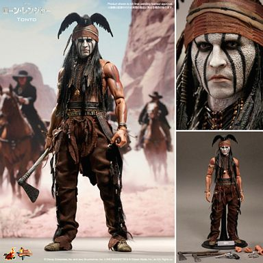 "Tonto ""Lone Ranger"" Movie Masterpiece 1/6 Action Figure"