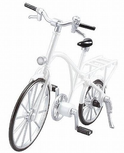 【中古】フィギュア [ランクB] ex:ride ride.002 クラシック自転車(パールホワイト)