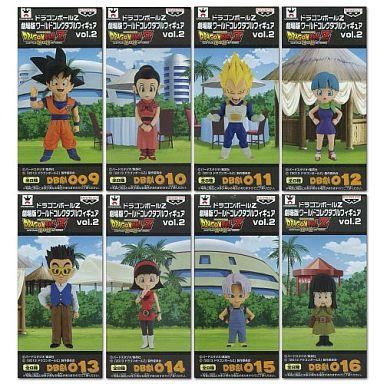 【中古】フィギュア 全8種セット 「ドラゴンボールZ 神と神」 劇場版ワールドコレクタブルフィギュア vol.2