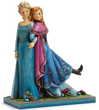 "Ana & Elsa ""Anna and the Snow Queen"" The Walt Disney Company Traditions Statue"