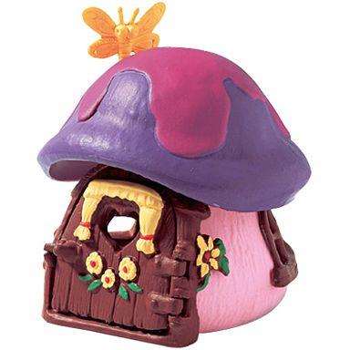 【中古】フィギュア スマーフェットのきのこのお家 「スマーフ」 No.49014