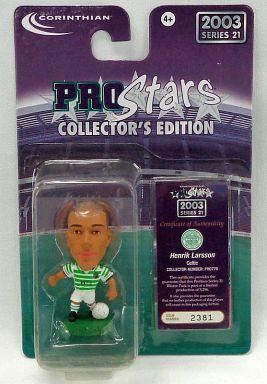 【中古】フィギュア Henrik Larsson -ヘンリク・ラーション-/Celtic -セルティック- 「PRO Stars」 コレクターズエディション 2003 シリーズ21