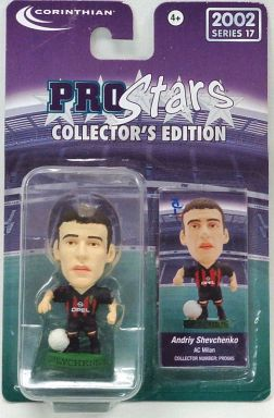【中古】フィギュア Andriy Shevchenko -アンドリュー・シェフチェンコ-/AC Milan -ACミラン- 「Pro Stars」 コレクターズエディション 2002 シリーズ18