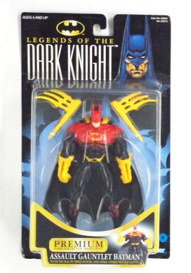 【中古】フィギュア ASSAULT GAUNTLET BATMAN -アサルトガントレットバットマン- 「BATMAN LEGENDS OF THE DARK KNIGHT」 PREMIUM COLLECTOR SERIES