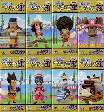 全8種セット 「ワンピース」 ワールドコレクタブルフィギュア vol.21