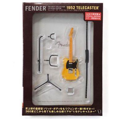 【中古】フィギュア 1952 テレキャスター 永久保存版 「Fender The Best Collection-フェンダー ザ ベスト・コレクション-」 1/8 ディスプレイモデル