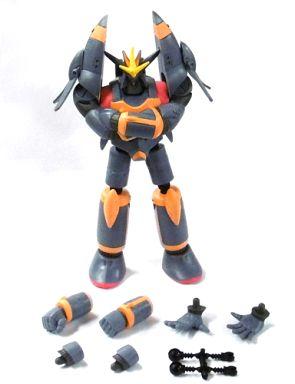 【中古】フィギュア ガンバスター(彩色版) 「スーパーロボット大戦」 アクションロボ キャラクターコレクション