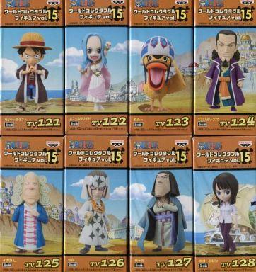 全8種セット 「ワンピース」 ワールドコレクタブルフィギュア vol.15