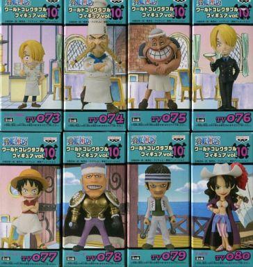 全8種セット 「ワンピース」 ワールドコレクタブルフィギュア vol.10