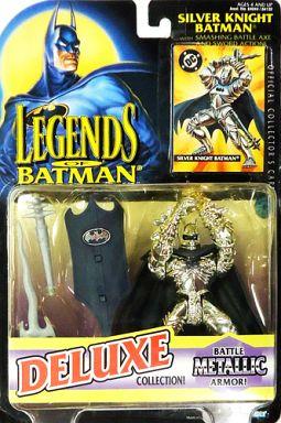 【中古】フィギュア SILVER KNIGHT BATMAN -シルバーナイト バットマン- 「LEGENDS OF BATMAN -レジェンズ オブ バットマン-」 DELUXE COLLECTION アクションフィギュア