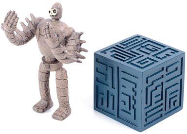 【中古】フィギュア ロボット兵&飛行石 つむつむパーツA(抱え) 「天空の城ラピュタ」