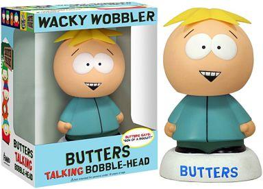 【中古】フィギュア BUTTERS-バターズ- 「SOUTH PARK -サウスパーク-」 ワッキーワブラー トーキングボブルヘッド