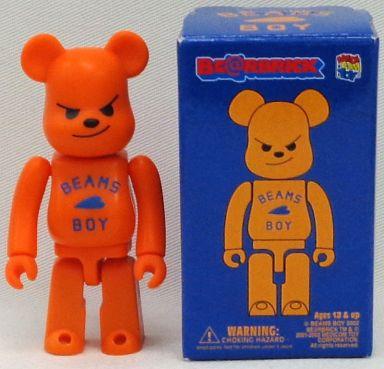【中古】フィギュア BE@RBRICK -ベアブリック- BEAMS BOY(オレンジ)
