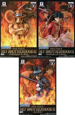 全3種セット 「ワンピース」 DXF BROTHERHOODII