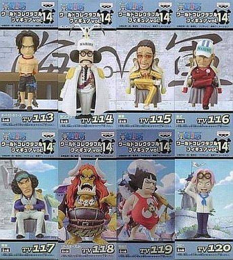 全8種セット 「ワンピース」 ワールドコレクタブルフィギュア vol.14