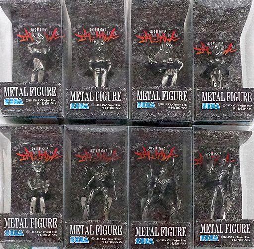 【中古】フィギュア 全8種セット 「新世紀エヴァンゲリオン」メタルフィギュア