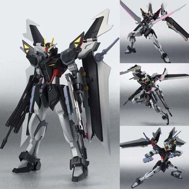 【中古】フィギュア ROBOT魂 <SIDE MS> ストライクノワール 「機動戦士ガンダムSEED C.E.73-STARGAZER-」