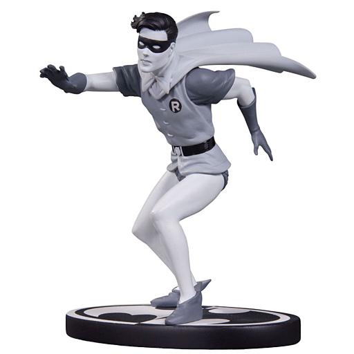【中古】フィギュア ロビン(カーマイン・インファンティーノ版) 「バットマン」 ブラック&ホワイト スタチュー