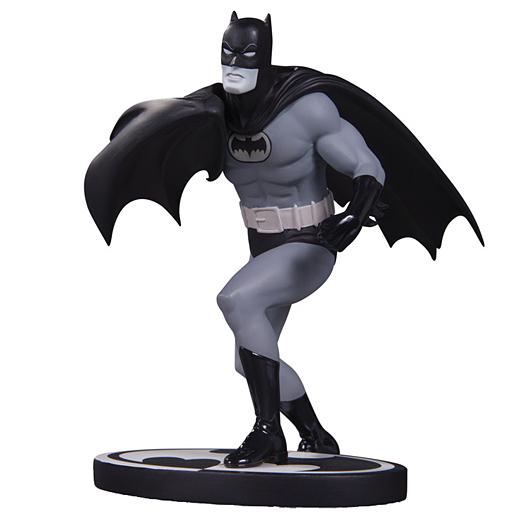 【中古】フィギュア バットマン(カーマイン・インファンティーノ版) 「バットマン」 ブラック&ホワイト スタチュー