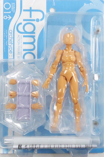 【中古】フィギュア figma archetype: he flesh color ver. (再販版) GOODSMILE ONLINE SHOP限定
