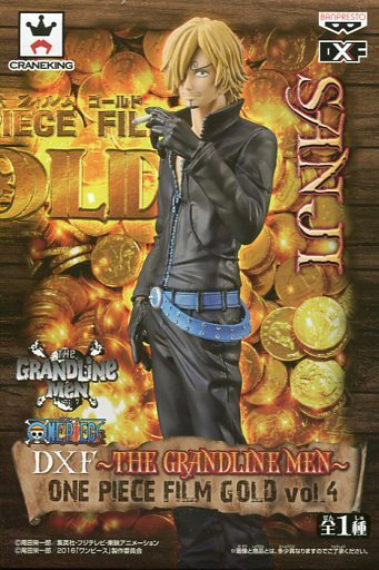 サンジ 「ワンピース」 DXF~THE GRANDLINE MEN~ ONE PIECE FILM GOLD vol.4