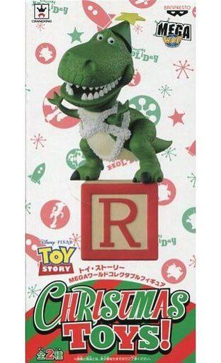 【中古】フィギュア レックス 「トイ・ストーリー」 MEGAワールドコレクタブルフィギュア CHRISTMAS TOYS!