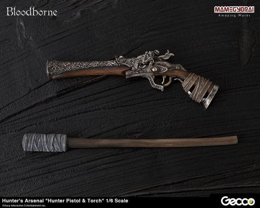 【中古】フィギュア 獣狩りの短銃&松明 「Bloodborne(ブラッドボーン)」 Hunter's Arsenal  -ハンターズ・アーセナル- 1/6 ウェポン