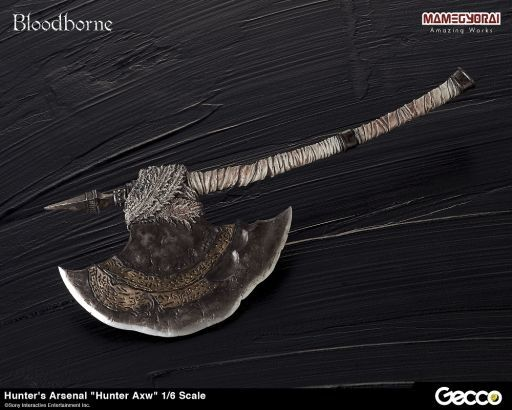【中古】フィギュア 獣狩りの斧 「Bloodborne(ブラッドボーン)」 Hunter's Arsenal  -ハンターズ・アーセナル- 1/6 ウェポン