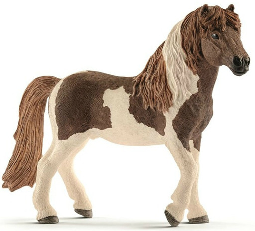 Schleich(シュライヒ) 新品 フィギュア アイスランドポニー(オス) 「Schleich-シュライヒ-」 HORSE CLUB -ホース・クラブ- No.13815