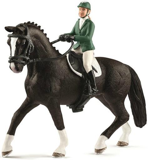 Schleich(シュライヒ) 予約 フィギュア ショージャンパーと馬 「Schleich-シュライヒ-」 HORSE CLUB -ホース・クラブ- No.42358