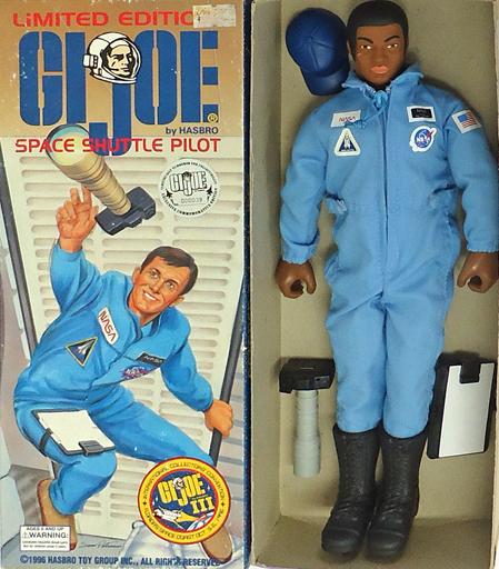 【中古】フィギュア SPEACE SHUTTLE PILOT(アイカラー/ブラウン) 「G.I.ジョー」 LIMITED EDITION 1996イベント限定