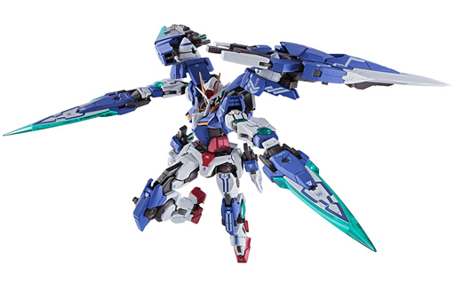 【中古】フィギュア METAL BUILD ダブルオーガンダムセブンソード/G 「機動戦士ガンダム00V(ダブルオーブイ)」