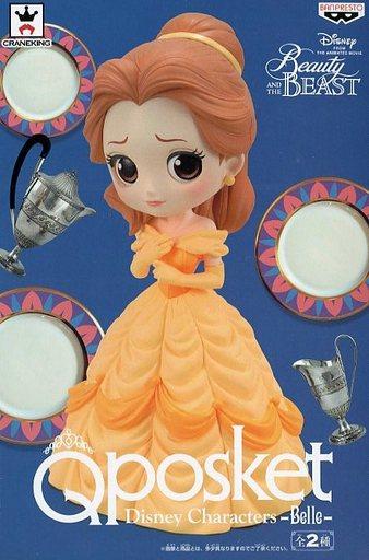 【中古】フィギュア ベル(パステルカラー) 「美女と野獣」 Q posket Disney Characters -Belle-