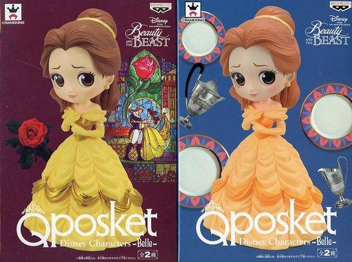 【中古】フィギュア 全2種セット 「美女と野獣」 Q posket Disney Characters -Belle-