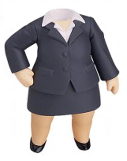 【中古】フィギュア 女の子用 黒スーツ 「ねんどろいどもあ きせかえスーツ」