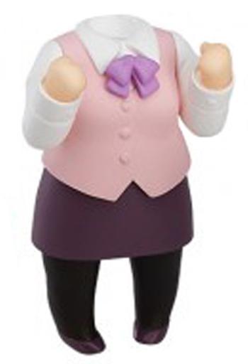 【中古】フィギュア OL風制服 「ねんどろいどもあ きせかえスーツ」