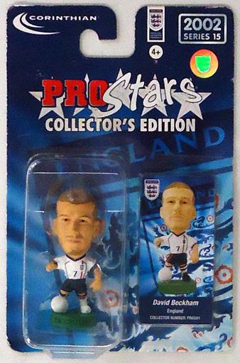 【中古】フィギュア David Beckham -デビッド・ベッカム-/England -イングランド代表- 「PRO Stars」 2002 シリーズ15